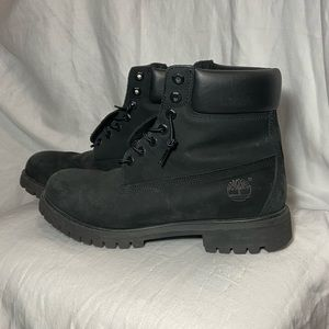 Timberland- Men's Black Boots